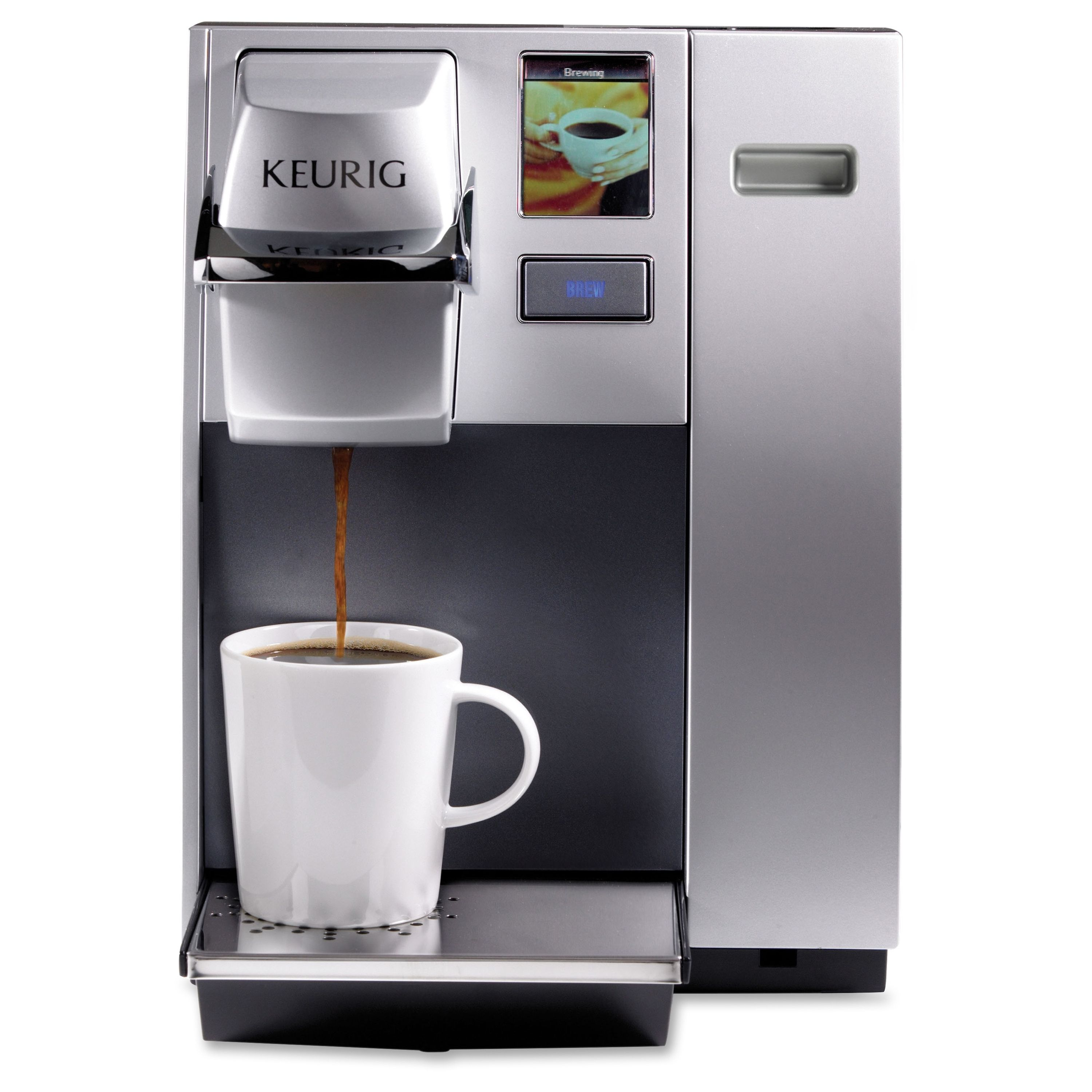 Keurig K155 Officepro Premier Brewing System Item Gmt20155 The K155 Provides Offices Th Single Coffee Maker Commercial Coffee Makers Keurig Coffee Makers