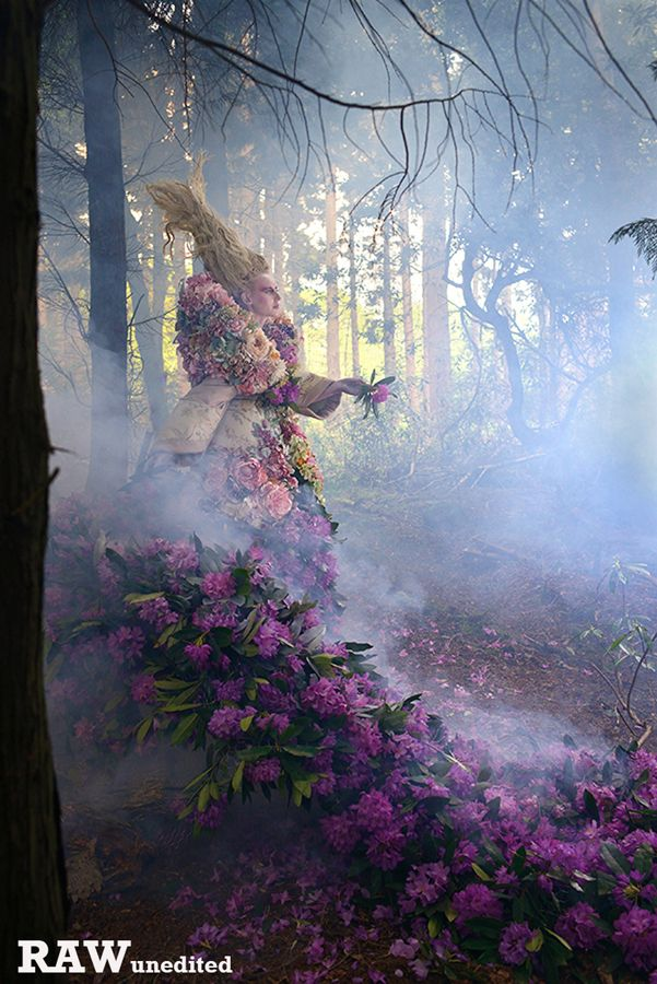 Behind the Scenes Photographs 2013 - 2014 - Kirsty Mitchell Photography