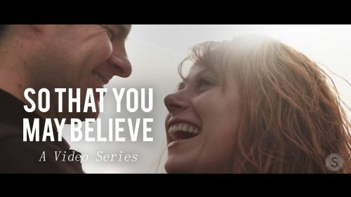 """These things have happened so that you may believe…"" Watch the 1-minute video! #ThatYouMayBelieve"