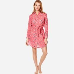Photo of Damen Ready to Wear – Turtles Song Hemdkleid aus Baumwollschleier für Damen – Shirt Dress – Florence