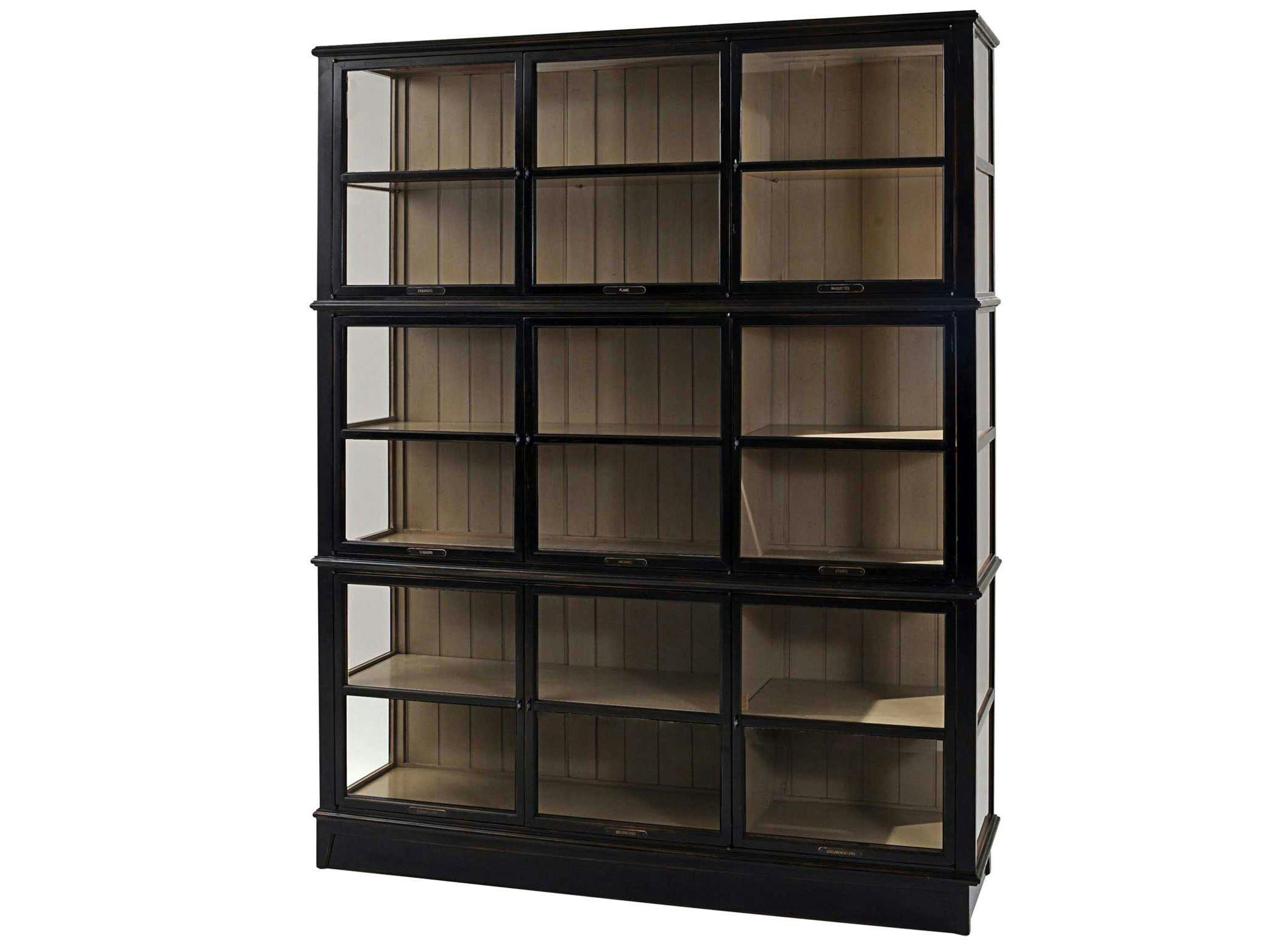 architecte cherry wood display cabinet by roche bobois [ 2084 x 1563 Pixel ]