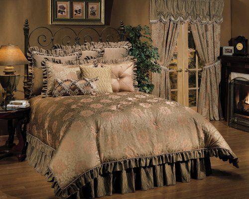 Jessica Mcclintock Juliet 4 Pc Queen Comforter Set By Jessica