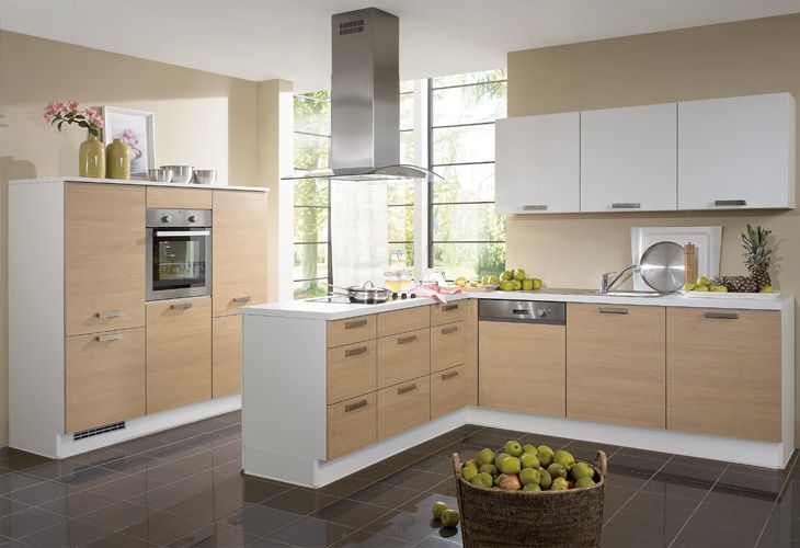 Küche in hellem Holz #Holzküche #Kücheninsel wwwdyk360-kuechende - nobilia küchen preisliste