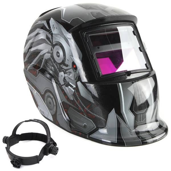 Transforme Solar Auto Darkening Welding Helmet Tig Mig Welder Lens