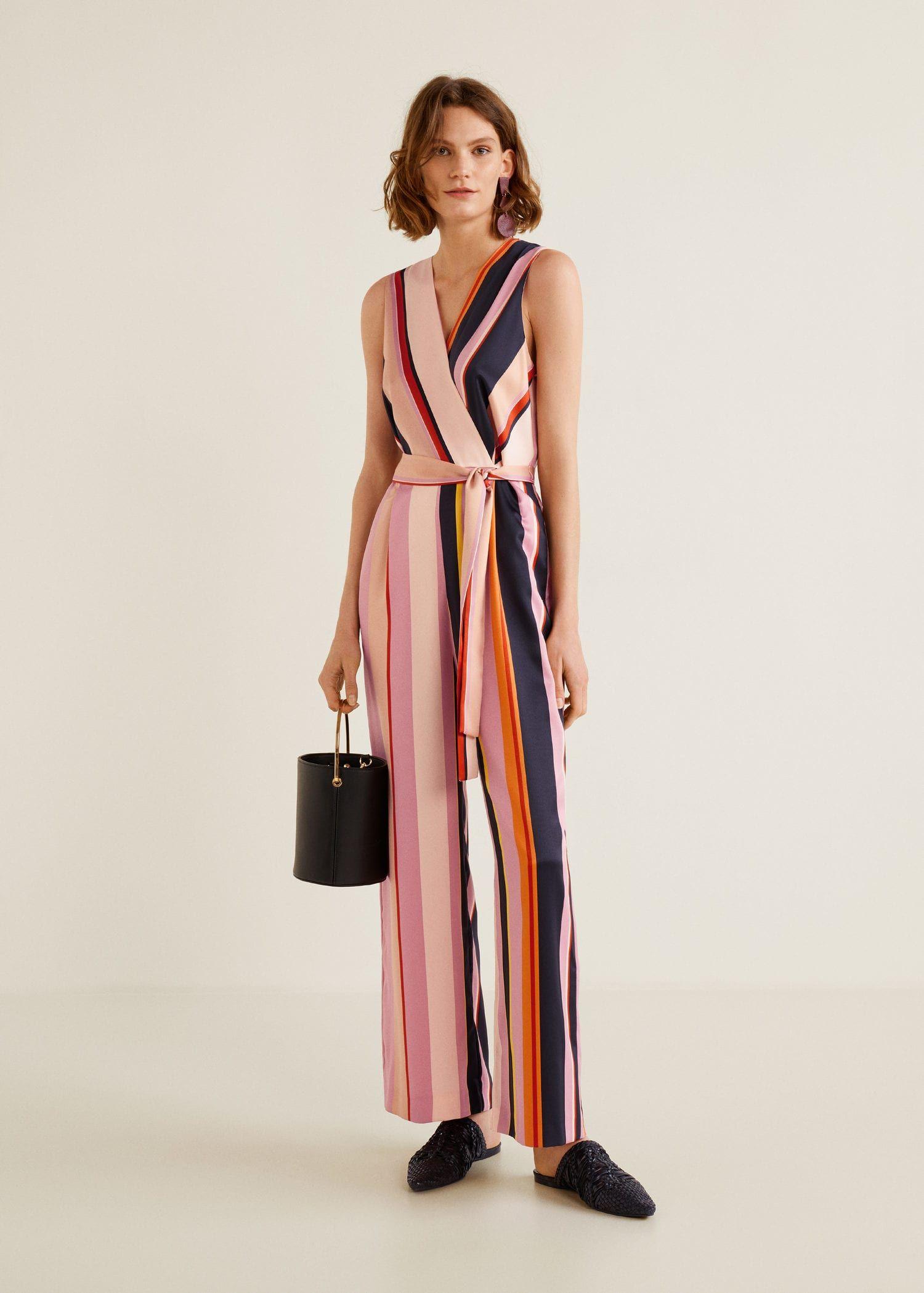 Mango FLORENCE Combinaison pink - Combinaison Femme Mango   Mode ... 6bf9e2627e22