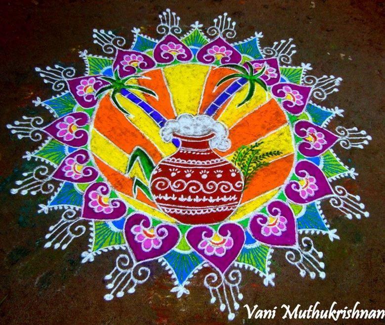 Pongal Kolam Designs - Sankranti | diwali raangoli ...