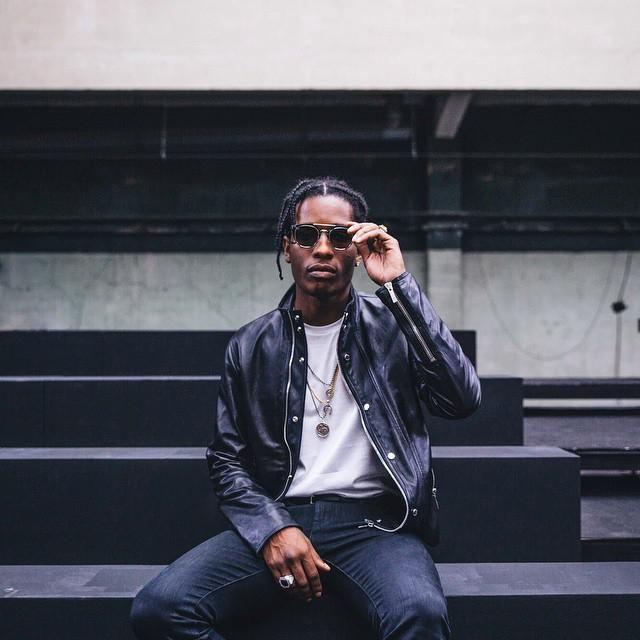 ASAP Rocky chez Dior Follow filetlondon for more street