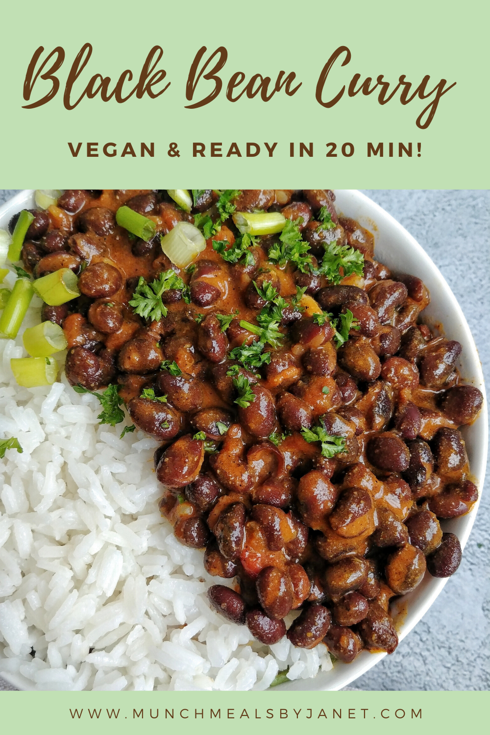 Vegan Black Bean Curry Munchmeals By Janet Recipe Bean Recipes Vegan Black Bean Recipes Beans Curry