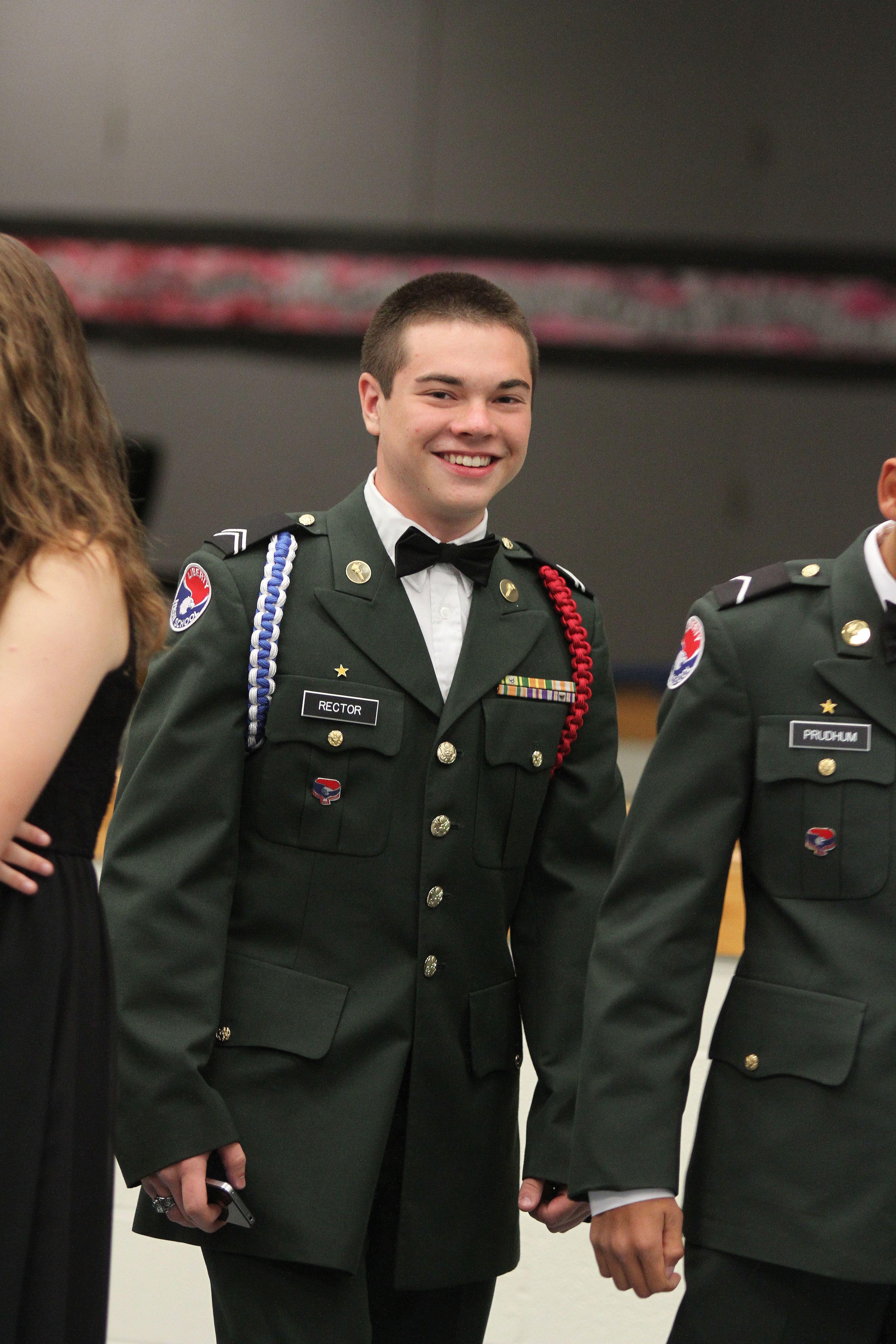 Sci-Tech JROTC Military Ball 2015