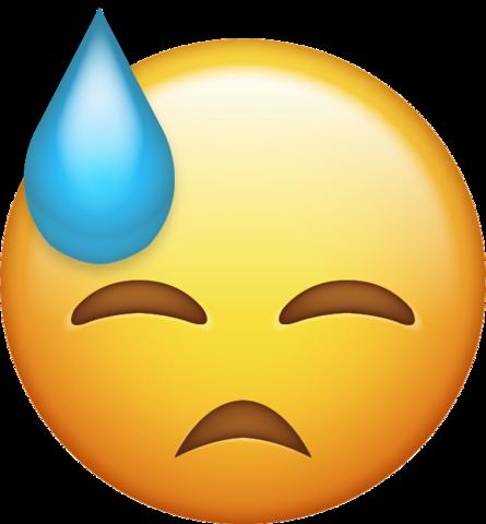 Sweat Emoji Free Download Ios Emojis Emoji Emoji Images Emoji Wallpaper