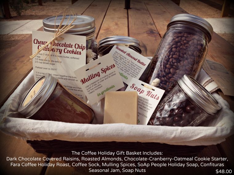 Community in.gredients Coffee gift basket, Holiday