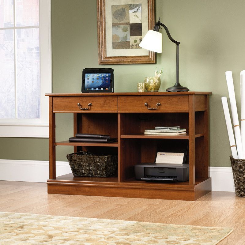 Smartcenter Console Cabinet Shaker Cherry