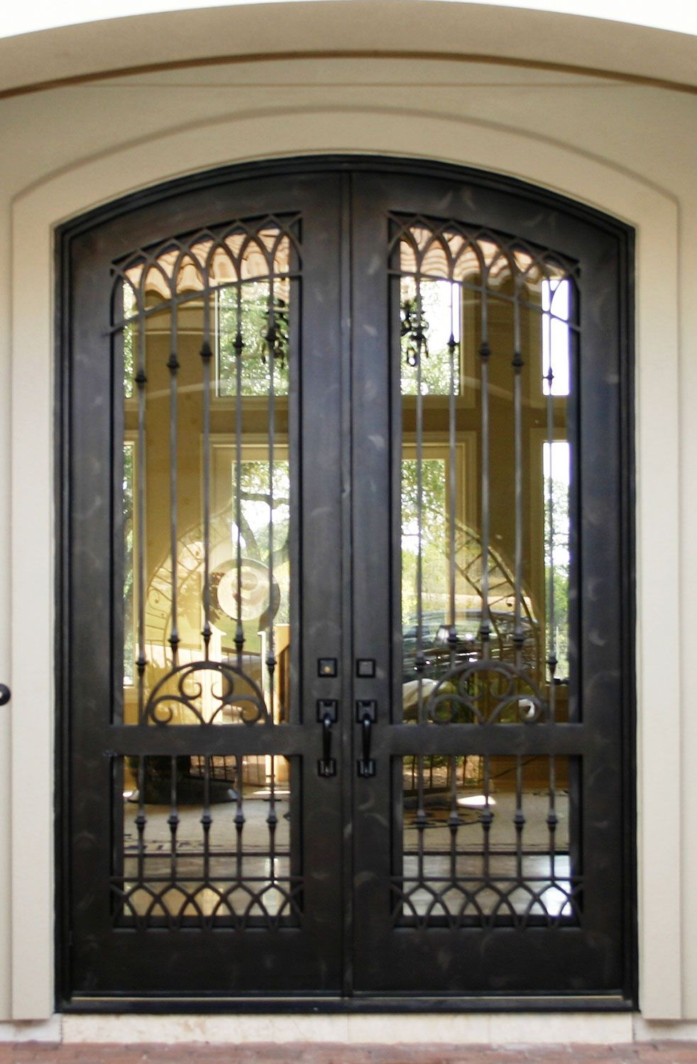 Cantera Doors Provides Hand Forged Custom Made Iron Staircase Amp Balcony Railings For Your Wrought Iron Doors Iron Doors Wrought Iron Doors Front Entrances