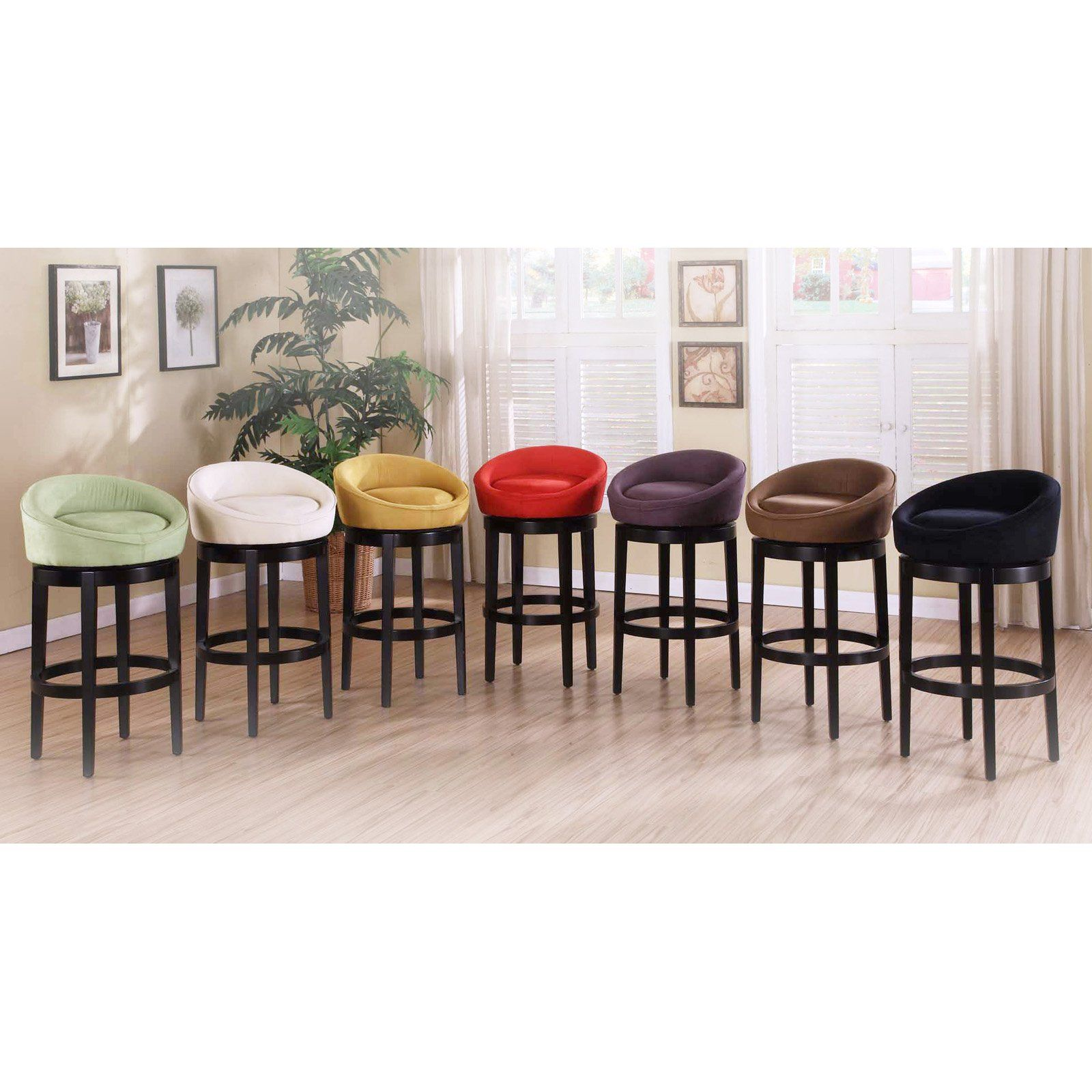 Armen Living Igloo 26 In Low Back Counter Stool Add A Few Armen