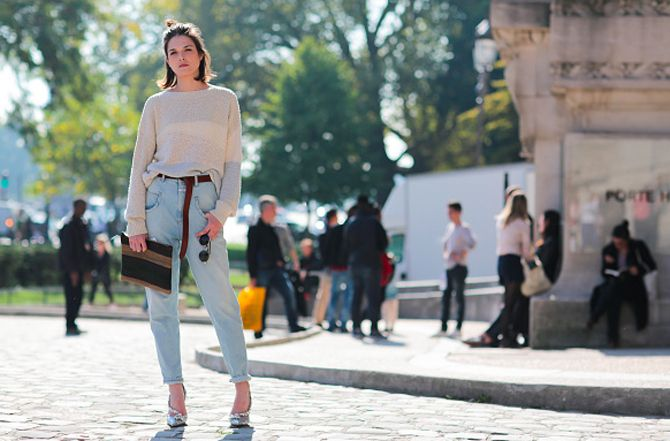 How to style jeans for fall according to the street style scene during Fashion Weeks SS16