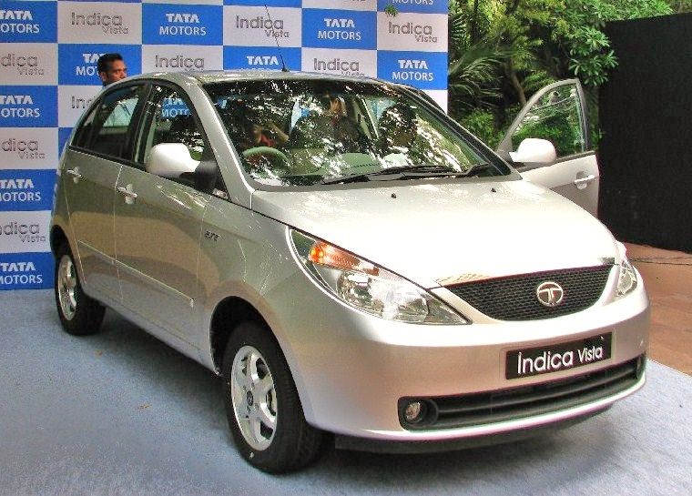 Tata Indica Vista Electric Car Wallpapers Tata Indica Vista