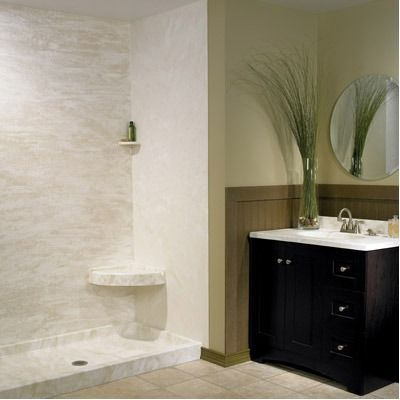 Swanstone Barrier Free Shower Base Ramp Wayfair Shower Wall