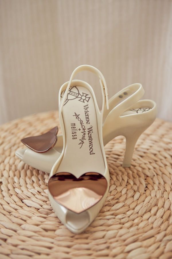 Sonoma Wedding By Bliss Event Productions Vivienne Westwood Shoes Heart Shoes Melissa Shoes