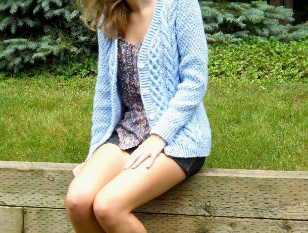 modified beatnik... knitted sweater