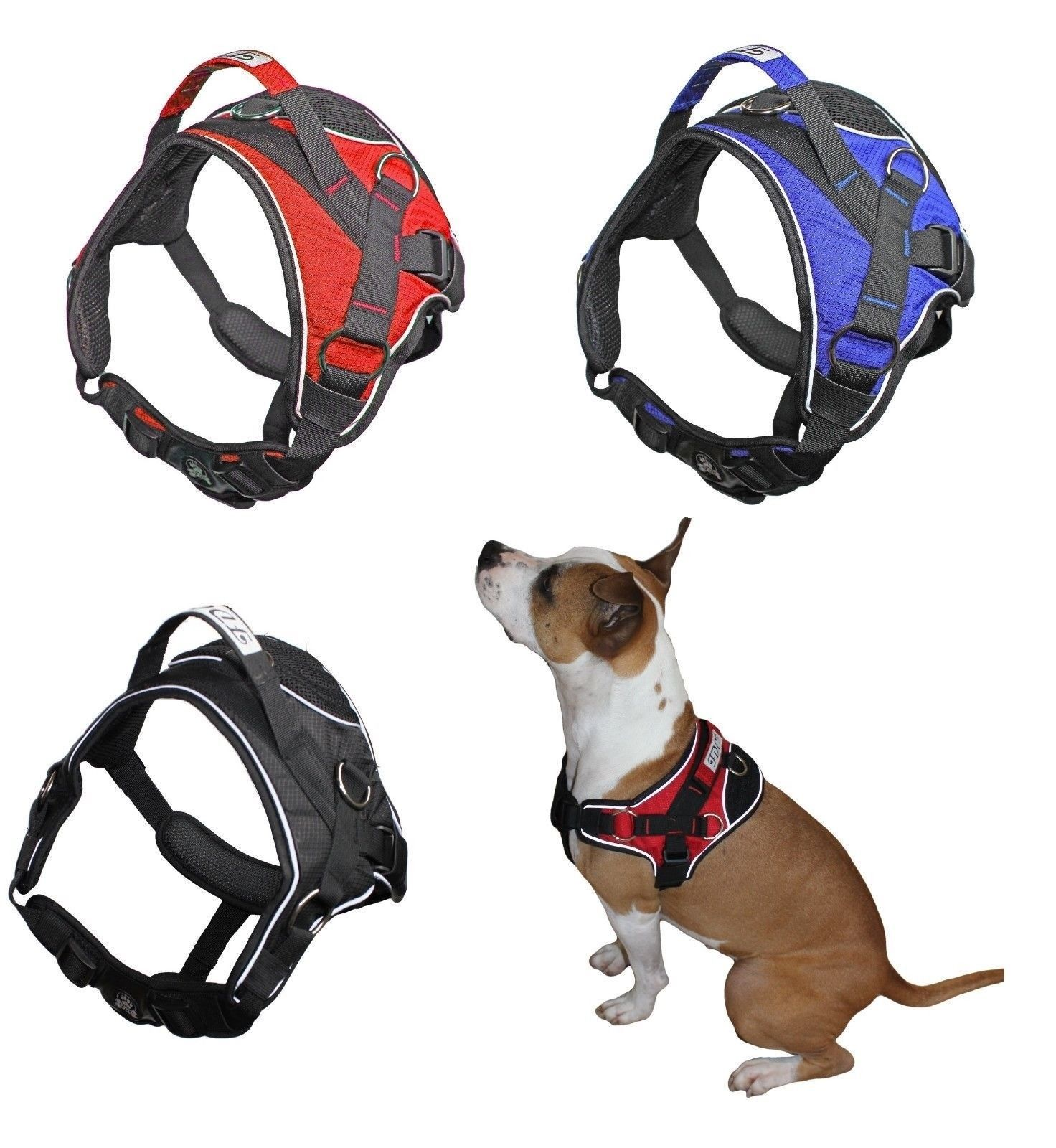 Durable Heavy Duty Padded NoPull Dog Harness Handle