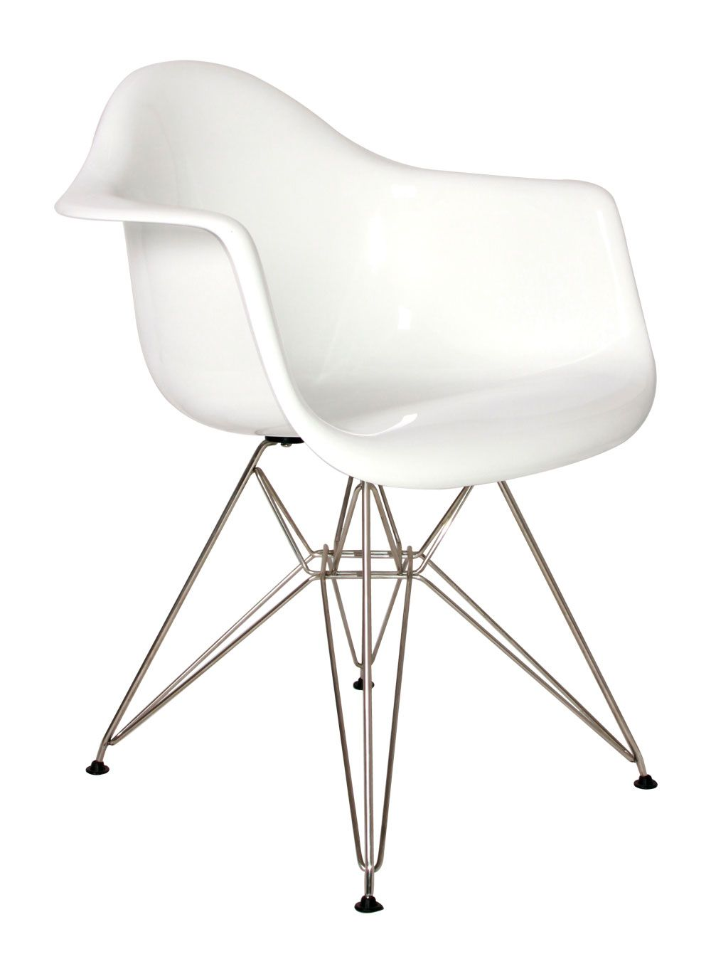 Eames Chair Weiß Charles And Ray Eames / Dar Chair / | Stuhl Design, Eames, Esszimmerstühle Weiß