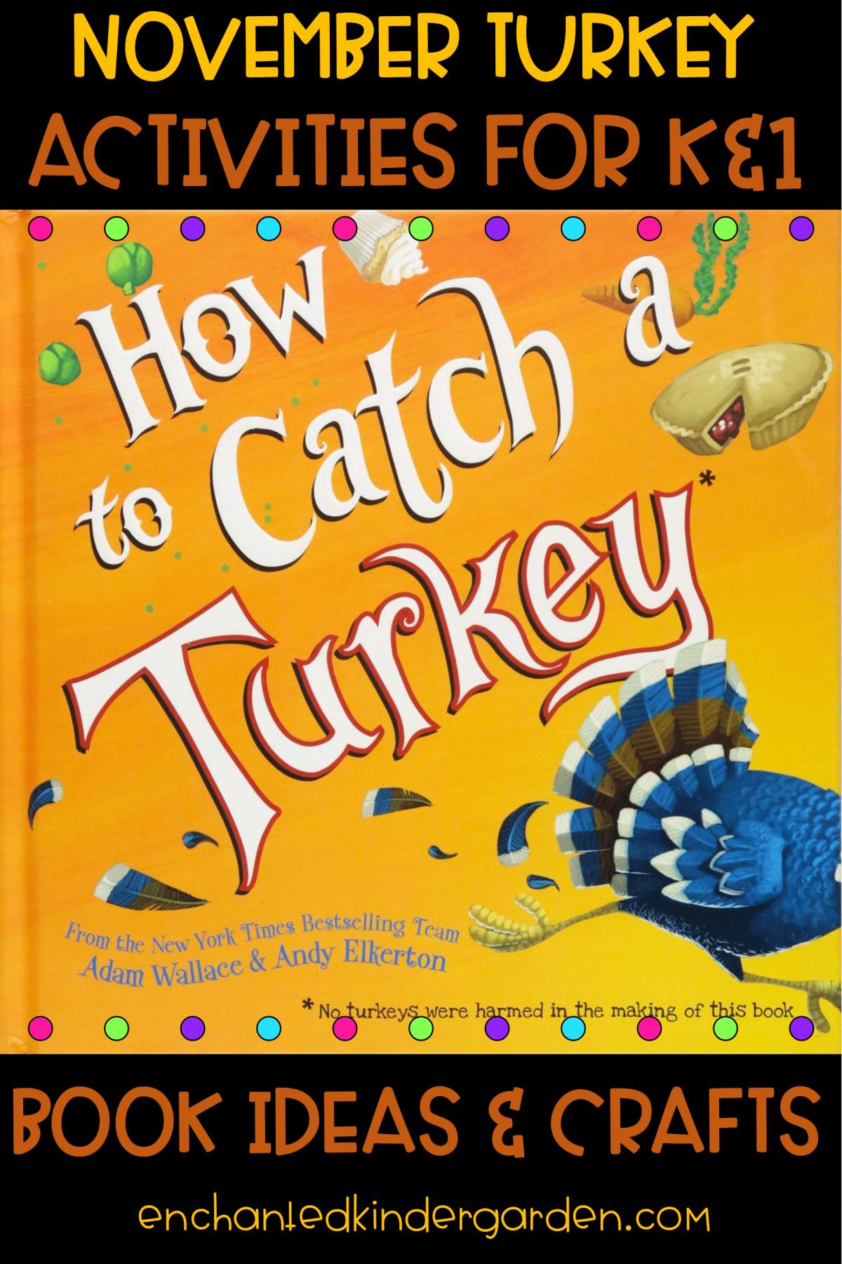 Easy Turkey Activity for Kindergarten Thanksgiving