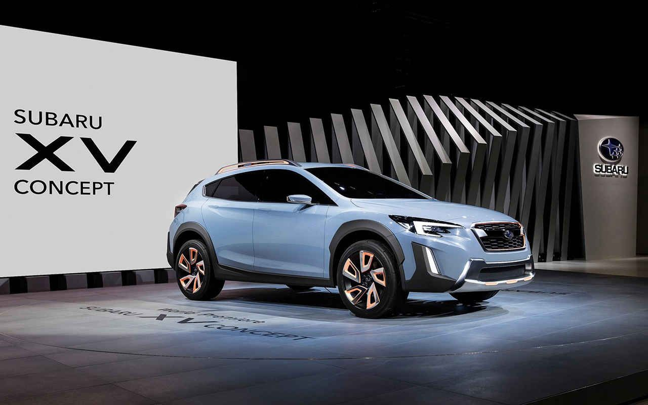 2018 subaru xv crosstrek concept hybrid. Black Bedroom Furniture Sets. Home Design Ideas