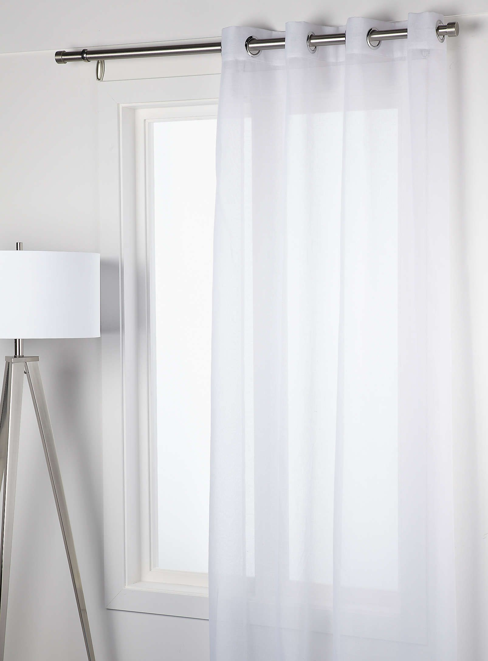 Solid Colour Voile Curtain 140 X 220 Cm Curtains Simons