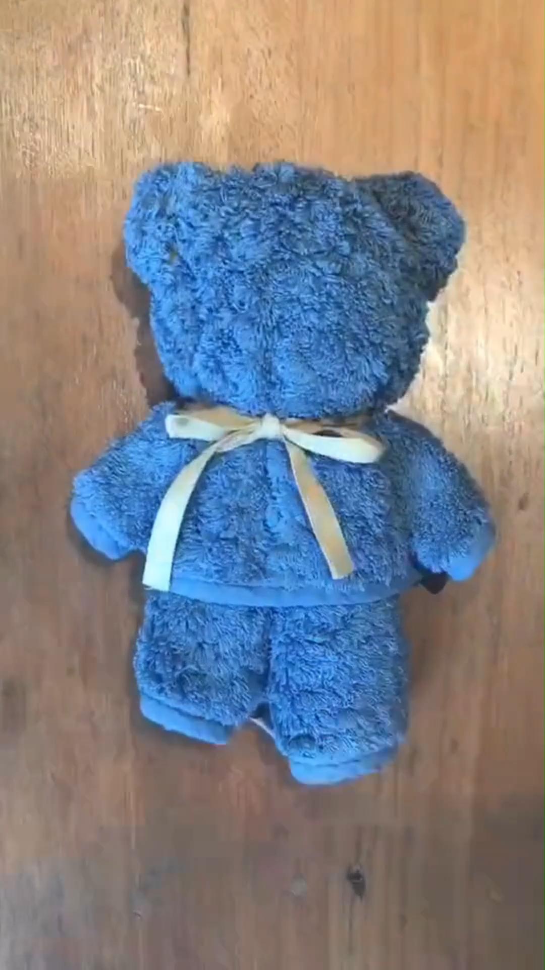 Photo of DIY Cute Towel Bear