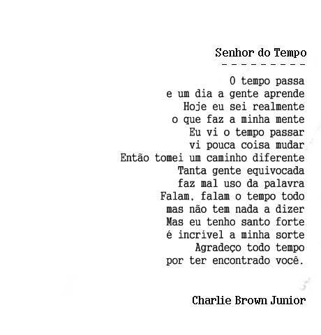 Charlie Brown Jr Diarios De Gratidao Chorao Frases Palavra Falada