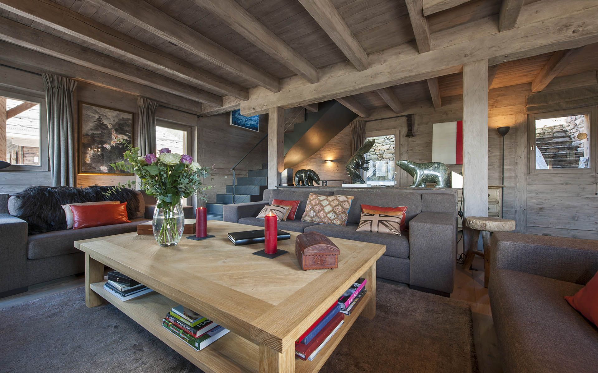 Luxury ski chalet chalet bouquetin verbier switzerland