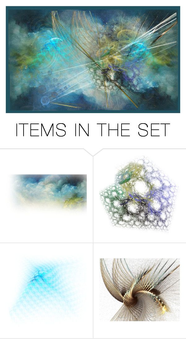 """Exploding Star"" by lovetodrinktea ❤ liked on Polyvore featuring art"