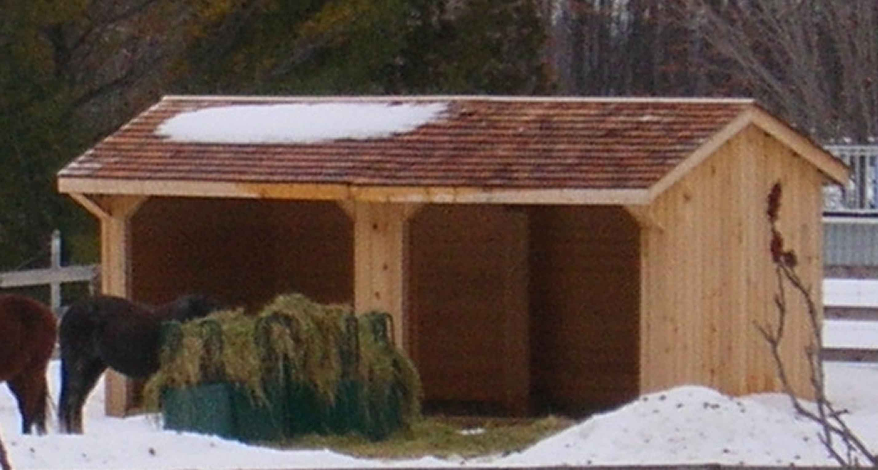 run in sheds building plans horse lovers store horse lovers