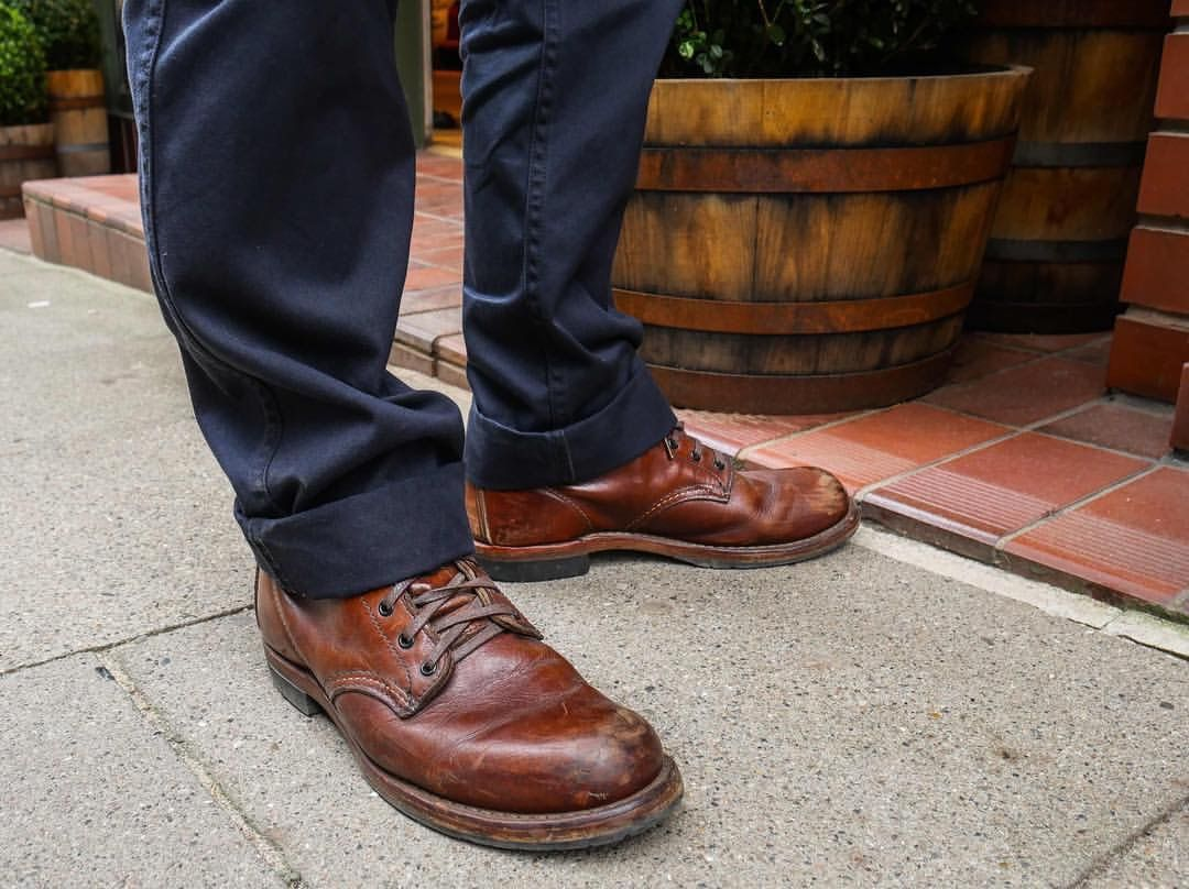 Best 25  Red wing beckman ideas on Pinterest | Red wing work shoes ...