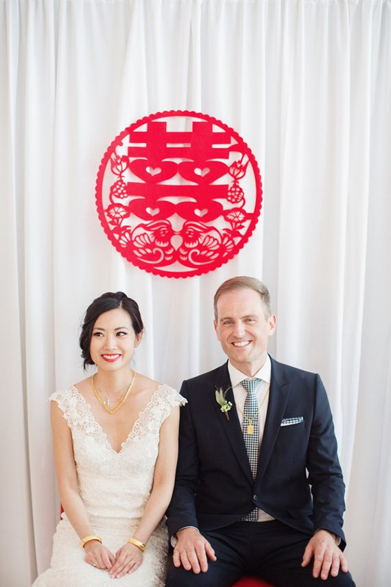 Modern Chinese wedding | Photo by Lucida Photography | Read more ...