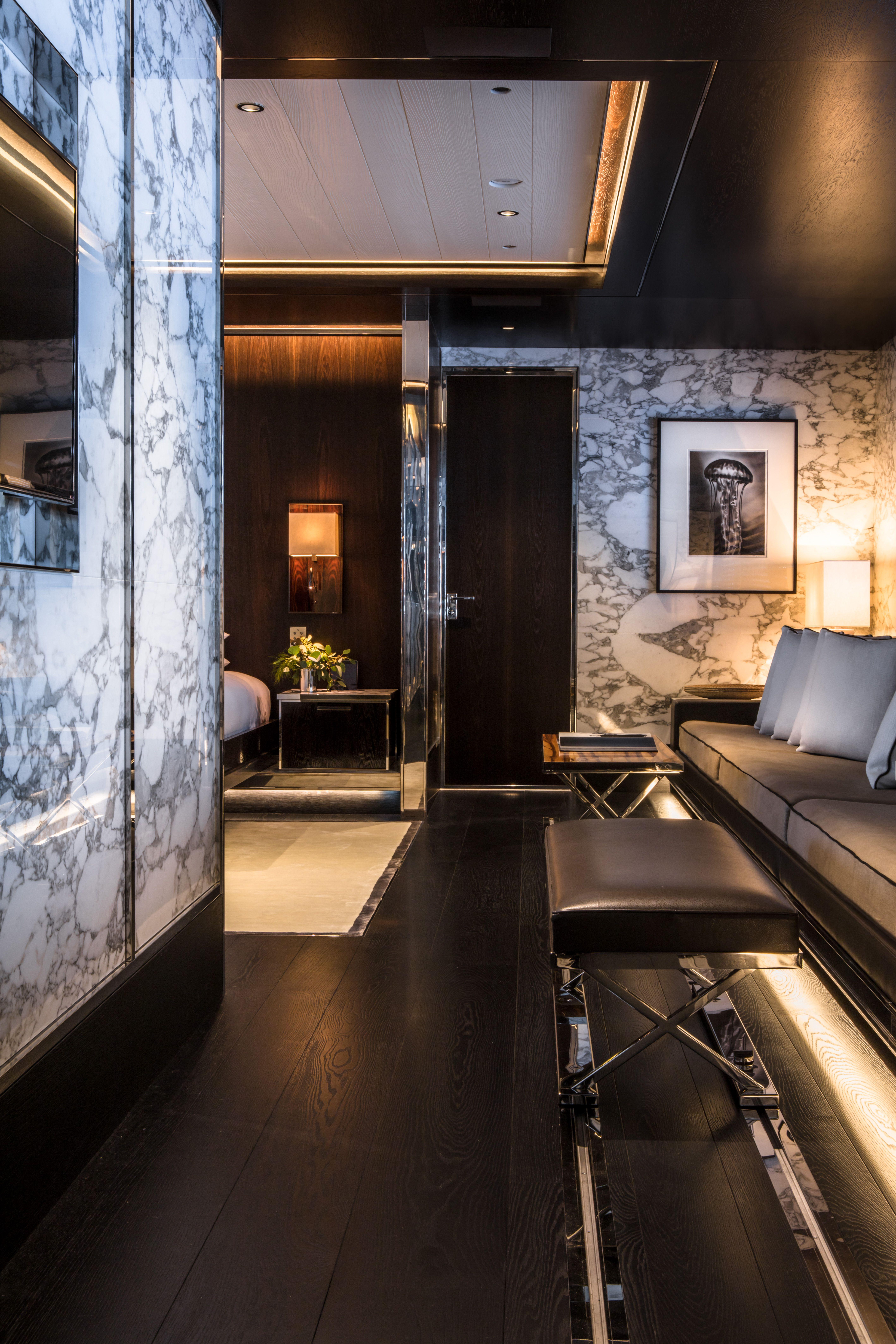 Ferienhaus innenarchitektur crn my m atlante ownerus suite  yachts  pinterest