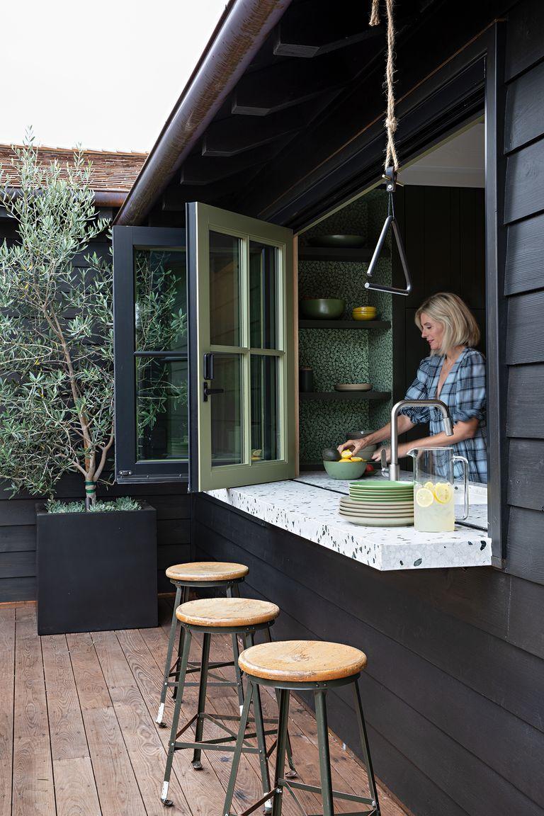 La rénovation contemporaine d'un cottage ancien