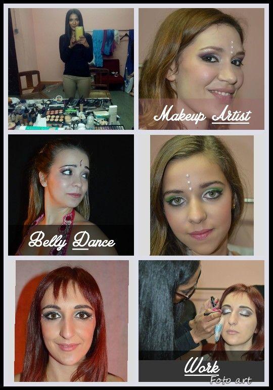 Makeup by : Mónika Passos