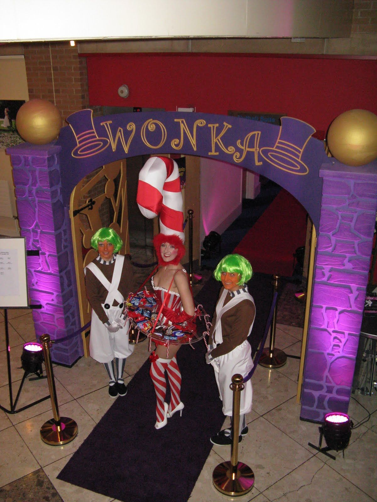 party prop entrance | Latest event news: Weddings and Willy Wonka ...