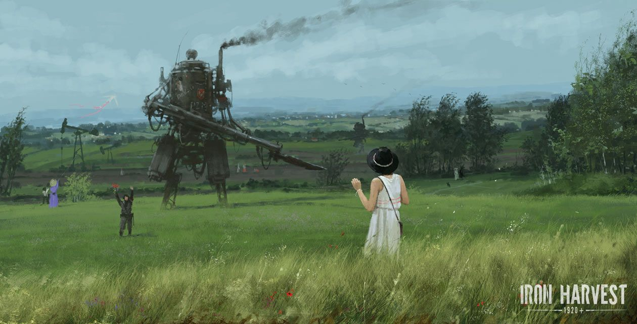 Spring Fields Art From Iron Harvest Art Artwork Gaming Videogames Gamer Gameart Conceptart Illustration Ironharvest Painting Photo Framed Art Prints