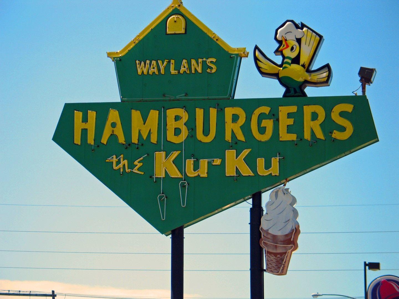 Waylans Ku Ku Burger In Miami Ok On Route 66 Diners