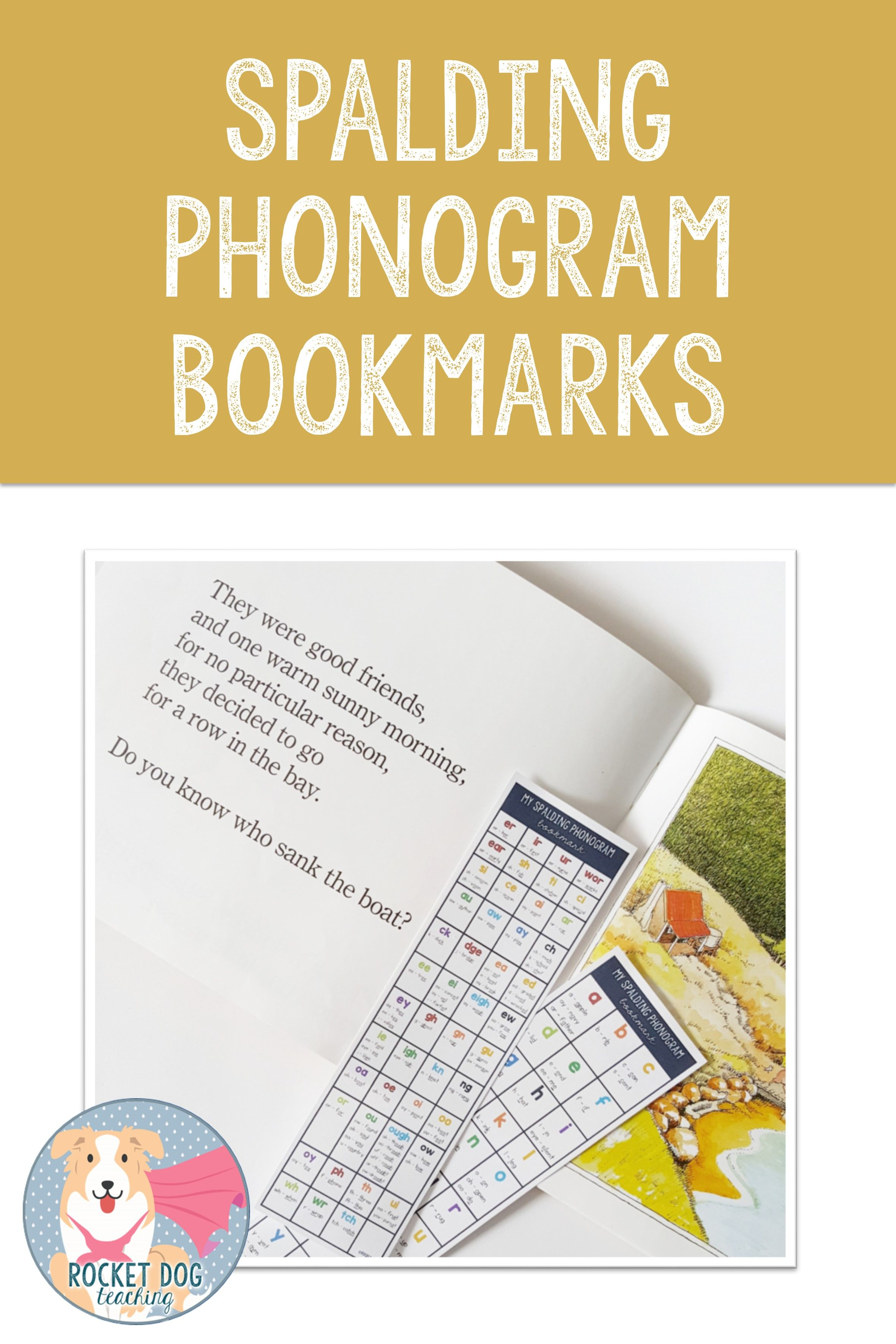 Phonogram Chart Bookmarks For Home Reading And Parent Support Spelling Activities Phonograms Phonics Sounds [ 3543 x 2362 Pixel ]