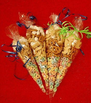 Magic Snack Mix to give to students on meet the teacher night to ease first day jitters