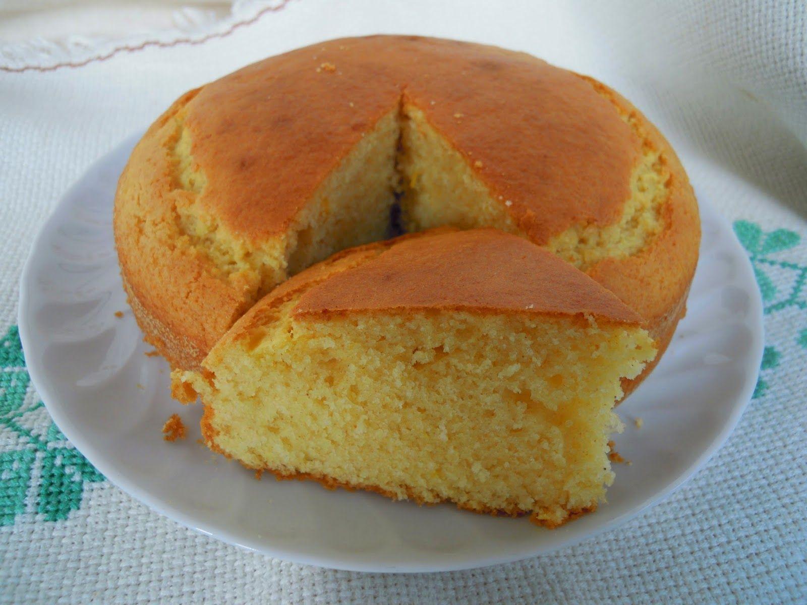Siamo cresciuti a pastasciutta!: Torta di mais leggera