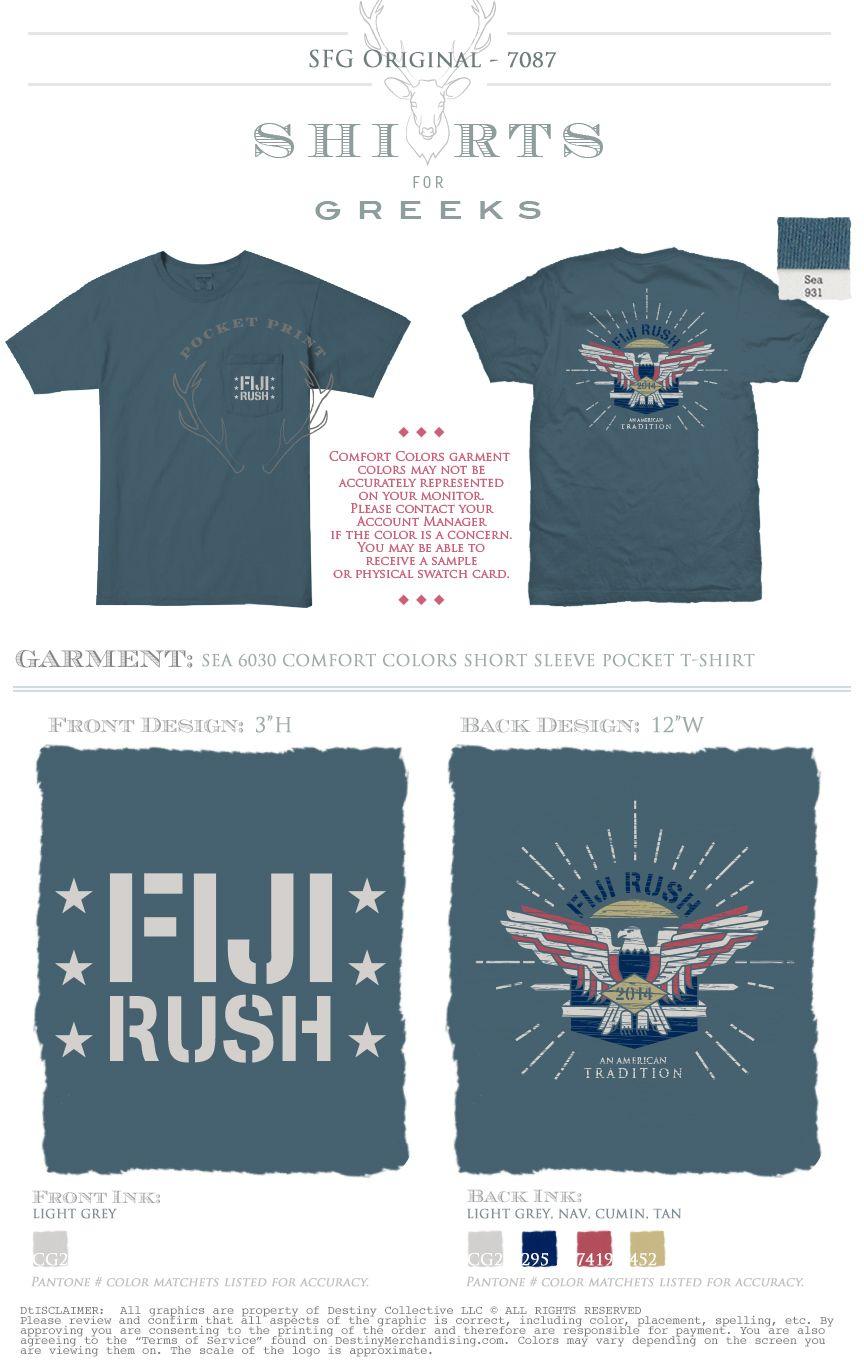 T shirt design richmond va - Fiji American Tradition Phi Gamma Delta Patriotic Recruitment Rush Eagle Fraternity Rush Shirtsshirt Designsshirt Ideast