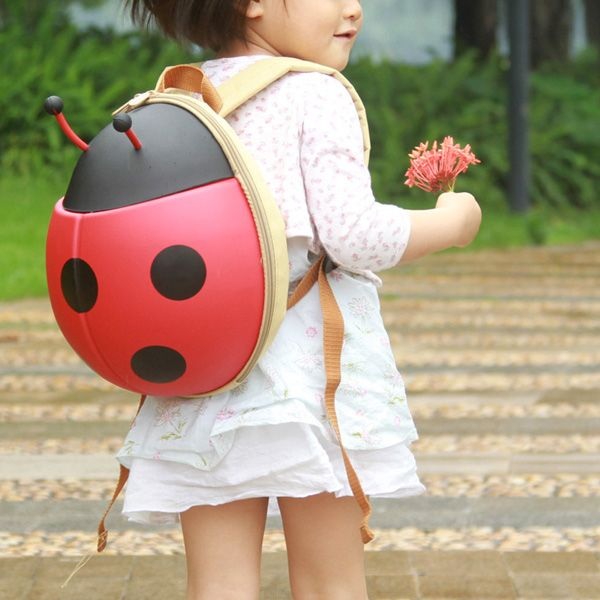 Ladybug Backpack - SF032