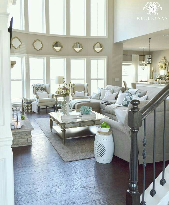 Pin By Jeralyn Forcier On My Future Home Neutral Living Room Home Decor Spring Living Room