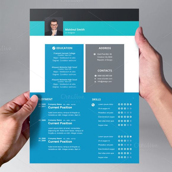 Personal Resume Template   Template, Cv template and Resume cv