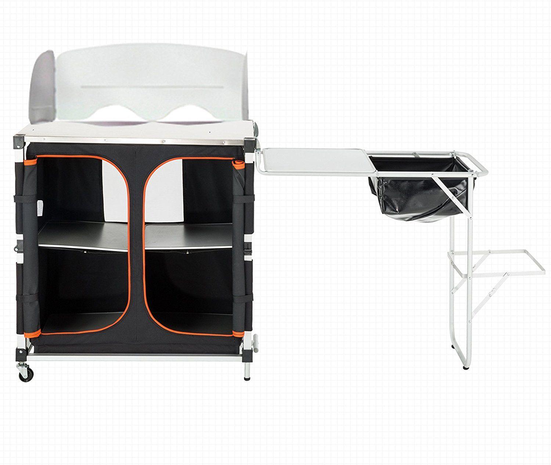 KingCamp Portable Light Multifunctional Camping Kitchen Cooking ...