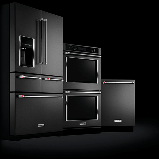 The First Ever Stainless Steel Black Premium Kitchen Appliances